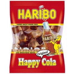 Haribo HAPPY COLA żelki 100g /30szt/-802