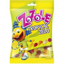 Żelki Zozole Tropical 75g-2477