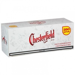 Gilzy CHESTERFIELD RED 250-80